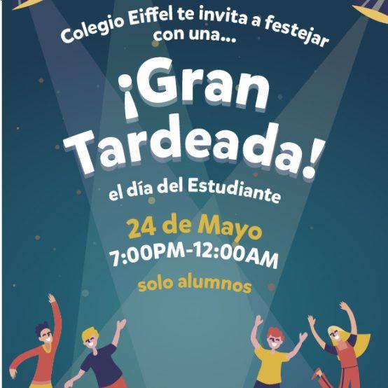 """Tardeada """"Día del Estudiante"""""""