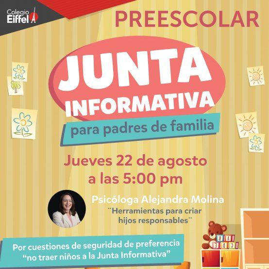 Junta Informativa Preescolar